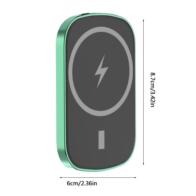 G8DF 4000/8000mAh Magnetic Power Bank Mini Portable Charger Fast Wireless Charging Smartphone Accessories 6