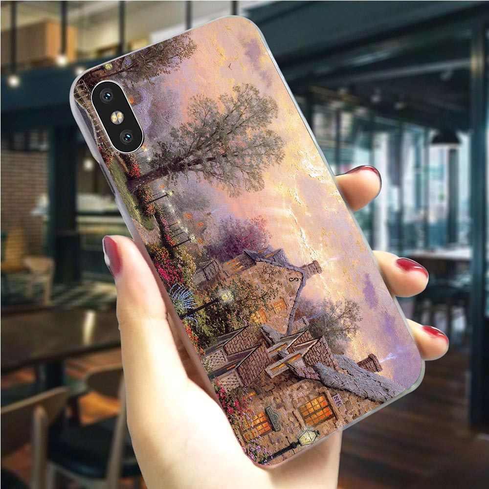 Hybrid michelangelo arte pintura telefone capa para iphone x caso 5 5S se 6 s/6 6 s plus 7 8/7 8 plus xs xr xs max capa dura