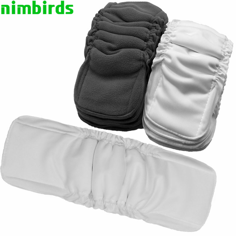 Reusable Bamboo Cotton Insert Baby Cloth Diaper Mat Bamboo Charcoal Nappy Inserts Changing Liners Cotton Insert Wholesale