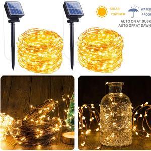 Solar Light Fairy Lights 12M/2