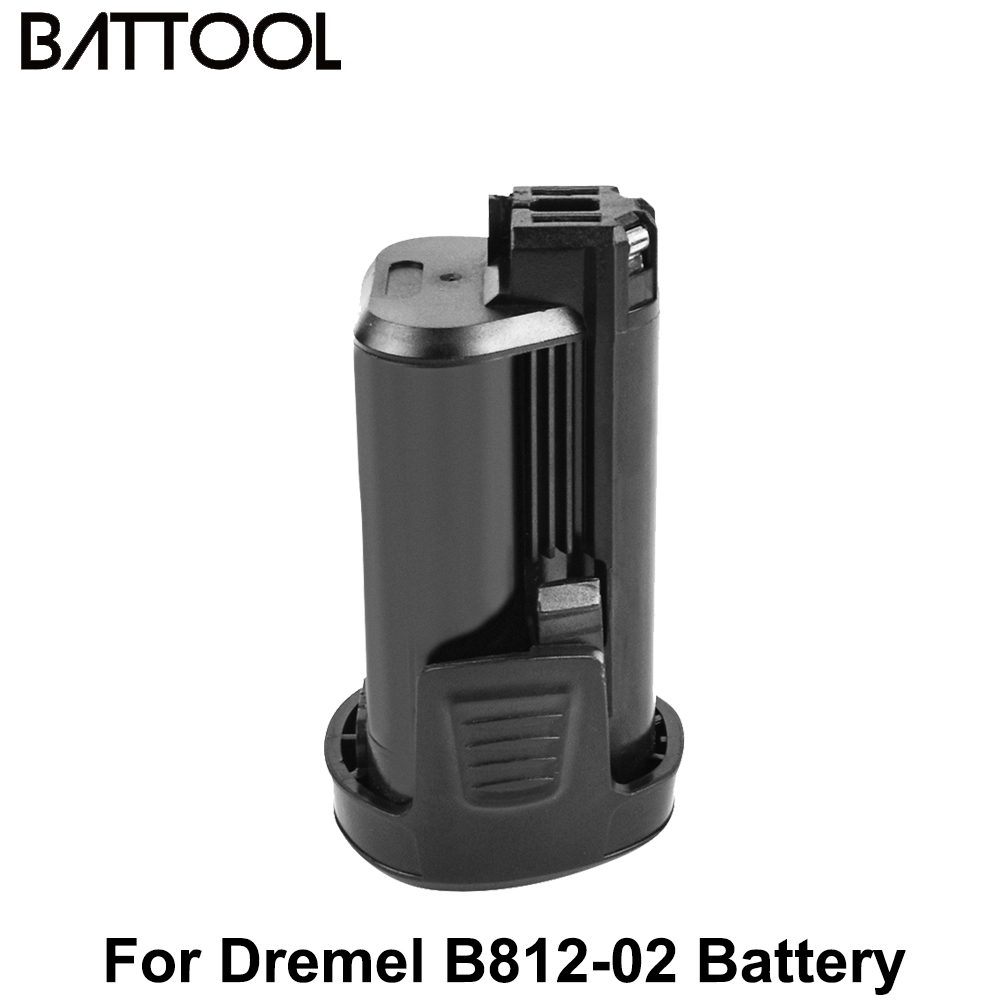 Литиевая батарея Battool 12 В 3500 мАч для вращающегося инструмента Dremel 8200 8220