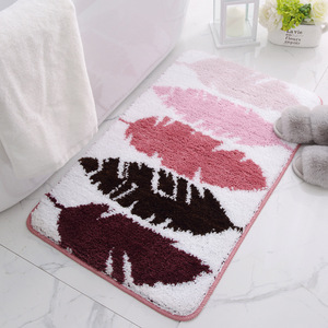 Image 5 - Bath Mat for Bathroom, Anti Slip Bathroom Rug In The Toilet,Absorbent Soft Carpet for Bedroom Sofa alfombra bano