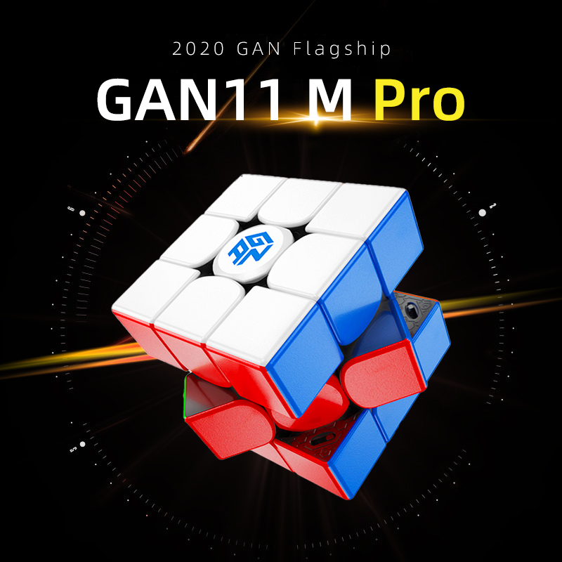 Puzzle Cubes Toys Magnets GAN Magic-Speed GAN11M Professional Kids Children 3x3x3