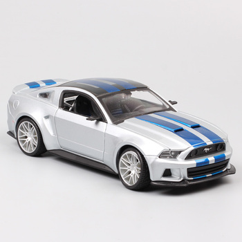 1/24 scale 2014 Ford Mustang GT street racer muscle cars Shelby GT500 model auto Diecast Vehicle game toys hobby gift miniatures image