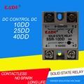 Однофазное твердотельное реле ssr-10dd/25DD/ 40DD DC control DC SSR в белом корпусе без пластиковой крышки