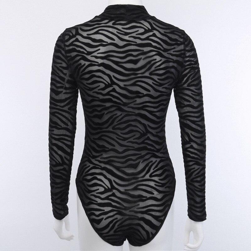 turtleneck mesh bodysuit women05