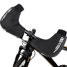 Bicycle-Handlebar Gloves Hand-Warmers Commuter Mittens Bikes Road Motorcycle Water-Resistant