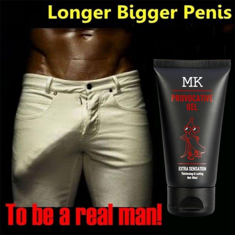 Wholesale 50ml Powerful Male  Long Lasting Enhancement Cream Bigger Thicker Extend Sexy Massage Cream