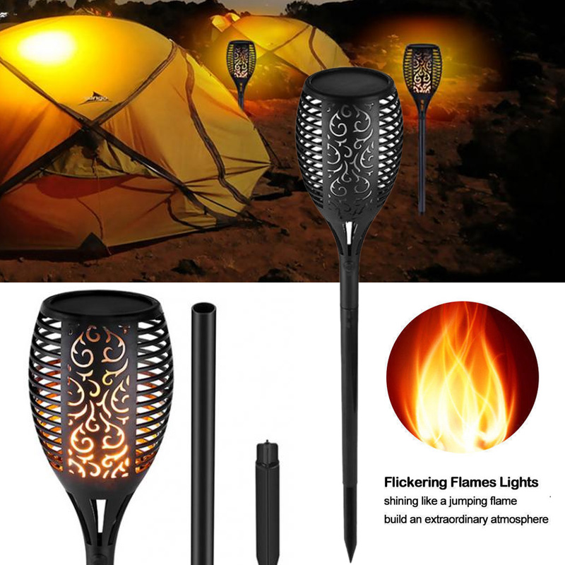 Lawn Lamp Lawn Light Eco-Friendly Durable Solar 51LED Home Flickering Garden Landscape Lights Hummingbird