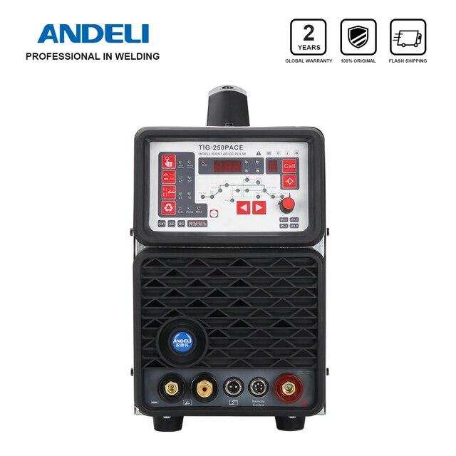 ANDELI TIG 250PACE Inverter Digitale AC DC Impulso TIG Saldatore TIG di Alluminio in Lega di alluminio Macchina di Saldatura TIG