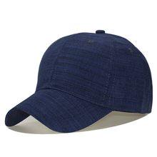 Summer Pure Cotton Simplicity Baseball Caps Men Outdoor Sports Sun Protection Round Hip- hop Hats
