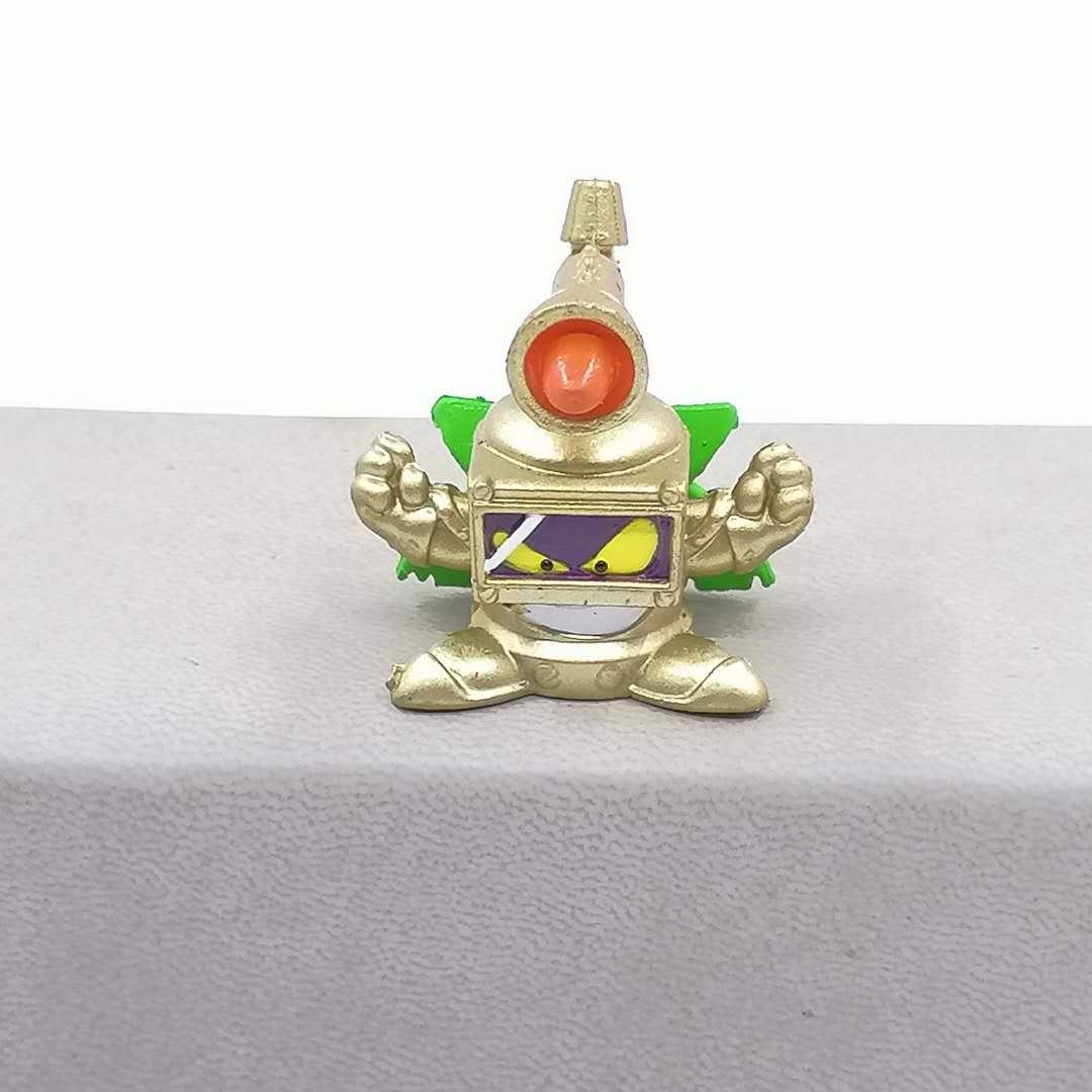 1 шт. Superzings может выбрать 3 см лимитированная коллекция супер Zings фигурки цвета: золотистый, серебристый мусора модели игрушки с дистанционны...