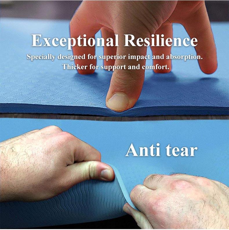 6mm antiderrapante yoga esteira thickess esporte ginásio