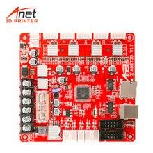 Anet A1284-Base V1.7 Base Placa de Controle Placa Mãe Mainboard para Anet A2 A6 A8 DIY Assembléia Auto 3D Impressora Desktop repRap i3
