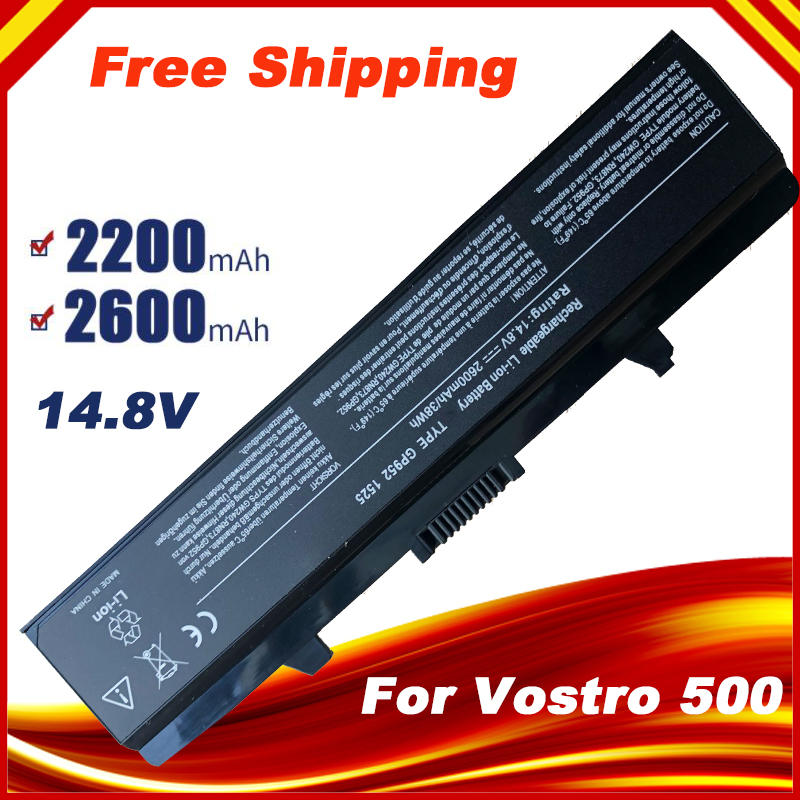 14.8V Battery For DELL INSPIRON 1525 1545 1526  C601H GW240 CR693 D608H GW241 GP252 GP952 GW252 HP277 HP287