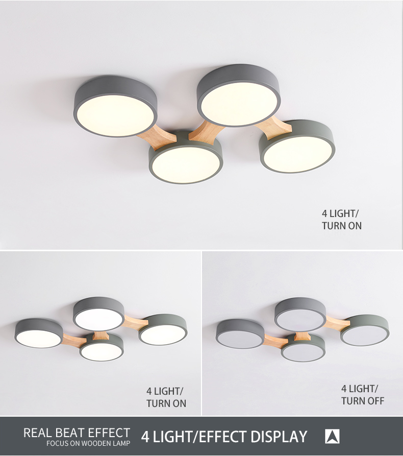 H1877d30166754014bb3e0485ec1c9bc87 BOTIMI 220V LED Ceiling Lights With Round Metal Lampshade For Living Room Modern Surface Mounted Ceiling Light Wood Bedroom Lamp