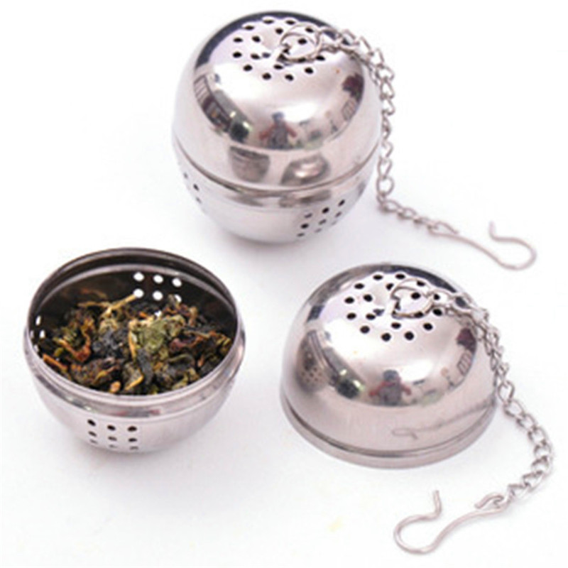 BG 33 Portable Stainless Steel Tea Infuser Tea Strainers Spice Bag Spice Bag Container Tea Ball Infuser Filter Kitchen Tools in Tea Strainers from Home Garden