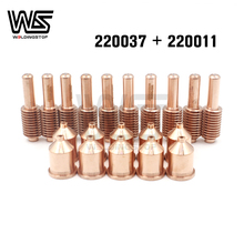 220037 220011 electrode nozzle 100A for 1650 Plasma Cutter Torch consumables