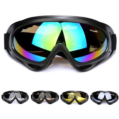 X400 Goggles Motorcycle Bicycle Glass Outdoor Sports Riding Glasses Bicycle Wind-Resistant Dust Windscreen