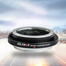 Viltrox EF-GFX AF Auto-Focus Mount Adapter for Canon EF Lenses to Be Mounted Perfectly on Fuji GFX-Mount Med-Format Cameras(China)