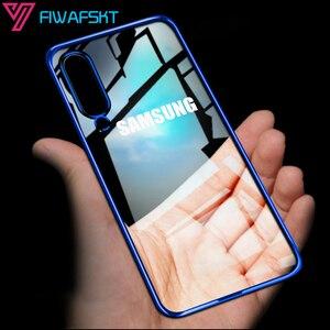 3D Laser Case for Samsung Galaxy A51 A71 A20e A20 A10 A30 A40 A50 A70 M20 A7 2018 A20S A30S A50S Bumper Silicone Plating Cover(China)