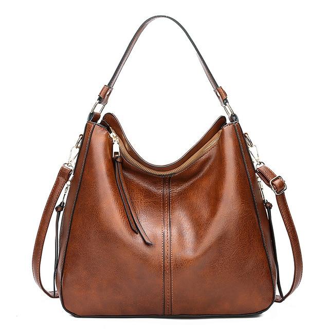 Hobos ยุโรป Crossbody กระเป๋าสุภาพสตรี Vintage ที่มีชื่อเสียงยี่ห้อ Luxury กระเป๋าถือผู้หญิงกระเป๋าออกแบบกระเป๋าหนังนุ่มผู้หญิง 2019 sac