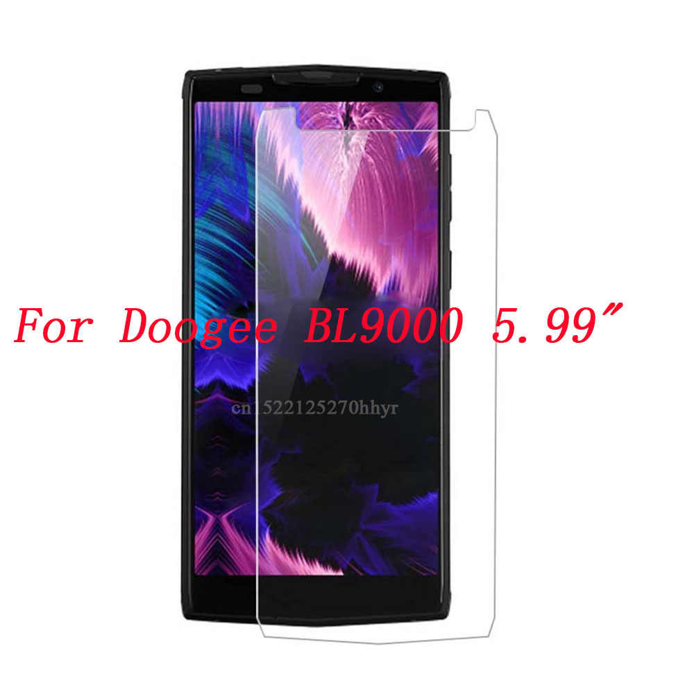 For Doogee BL9000 Tempered Glass Explosion-Proof Phone Screen Protector Film For Doogee BL 900 0 Mobile Phone Glass