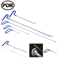PDR Tools Kits Push Pull Rods Hook Tail Hail Removal for car Paintless Dent Repair Tools 5 pcs/set Hook Rods