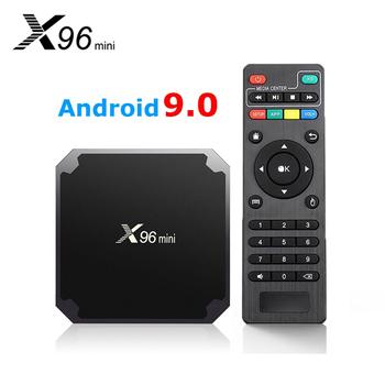 X96mini nowy Android 9 0 Smart TV BOX X96 mini S905W czterordzeniowy wsparcie 2 4G bezprzewodowy dekoder WIFI dekoder tanie i dobre opinie 100 M CN (pochodzenie) Amlogic S905W Quad-core 64-bit 16 GB eMMC Brak 2G DDR3 0 4KG DC 5 V 2A Karty TF Do 64 GB Wliczone w cenę