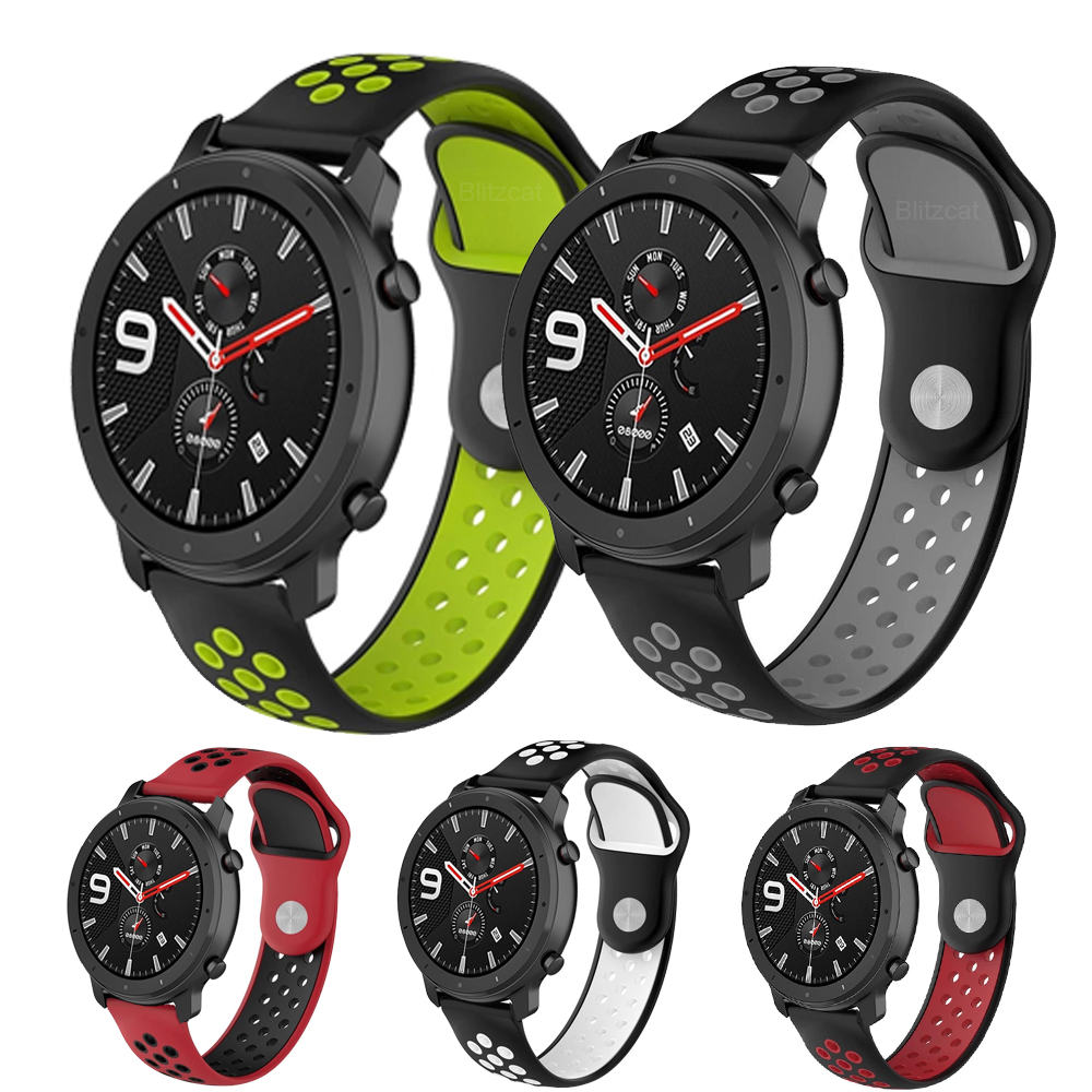 Wrist-Strap Bracelet-Band Replacement Watch Amazfit Gtr Silicone 42mm Sports Xiaomi