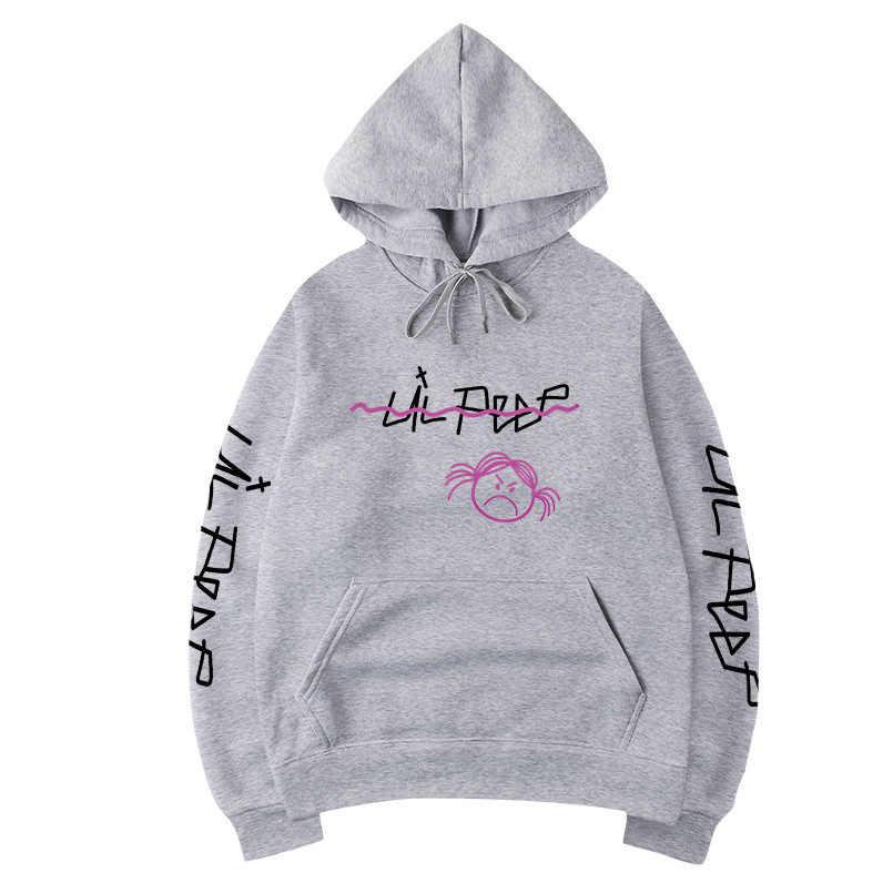 Lil peep hoodies 러브 남성 스웨터 후드 풀오버 hoody 남성/여성 sudaderas cry baby 힙합 streetwear fashion hoodie male