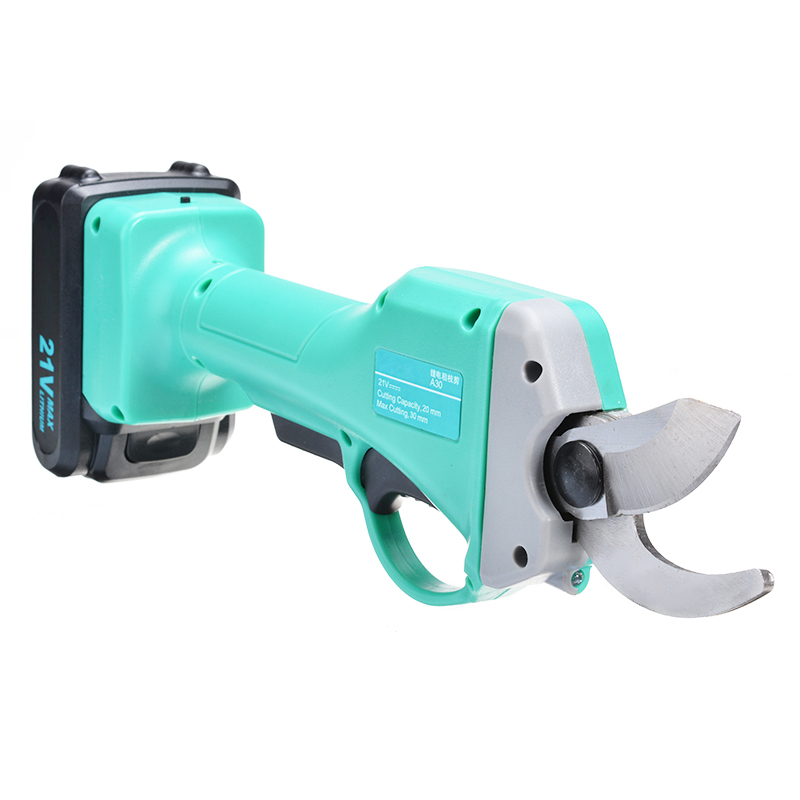 Tools : 1pc Cordless Rechargeable Electric Pruning Shears Secateur Branch Cutter Scissor With Battery Garden Pruner Cutting Tool