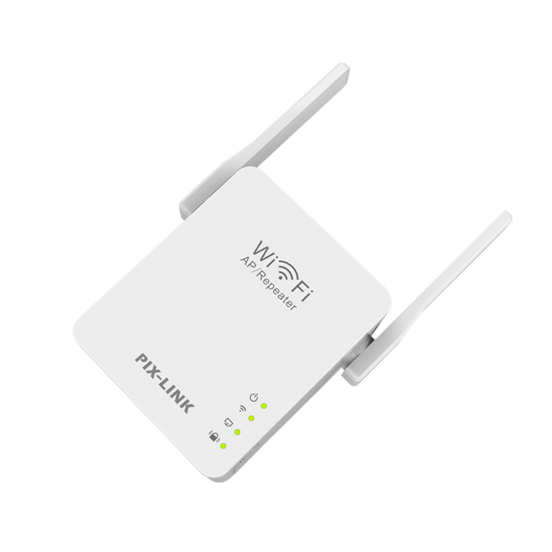 Original Wireless Wifi Repeater 300mbps Universal Range Wireless Router With 2 Antennas AP Router Extender Mode