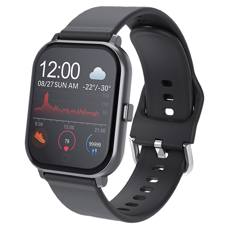 T55 Smart Watch Waterproof Fitness Sport Watch Heart Rate Tracker Call/Message Reminder Bluetooth Smartwatch For Android iOS