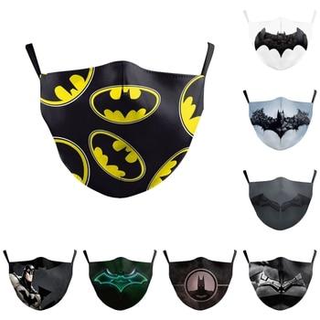 The Dark Knight Batman Bruce Wayne Cosplay Face Mask Dustproof Adult Kids Masks the batman bruce wayne latex mask superhero movie cosplay costume halloween party masks