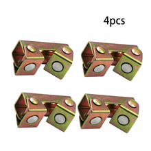 4 шт магнитные v образные зажимы образный сварочный держатель