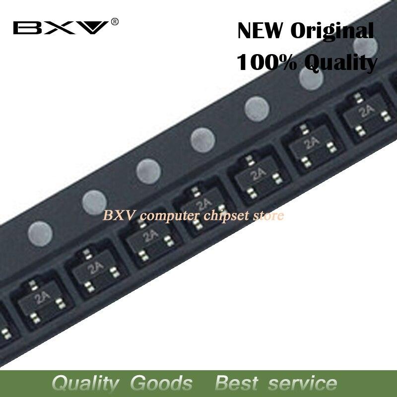 100PCS MMBT3906 2A MMBT3906LT1G 3906 2N3906 200mA 40V SMD transistor neue und original