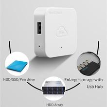 NAS Drive Enclosure Network Storage Hard Drive Case Expansion Box Personal Cloud Nascloud A1 Remote Access HDD Enclosure