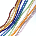 1 нитка 190 шт 2 мм качественные разноцветные биконовые бусины для изготовления ювелирных изделий самодельные Украшения, Аксессуары