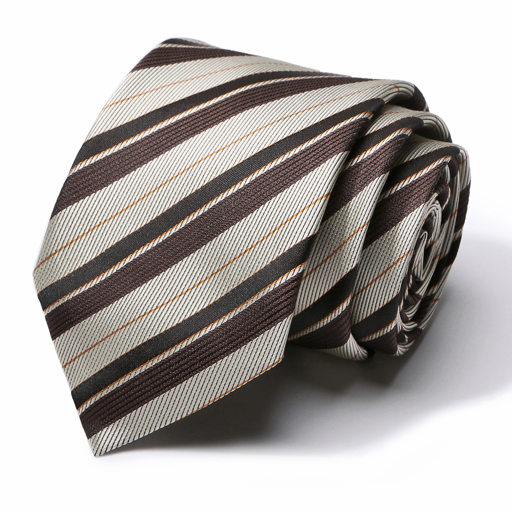 New 7.5 Cm Ties For Men Stripe Tie Wedding Dress Necktie Fashion Luxury Plaid  Business  Accessories