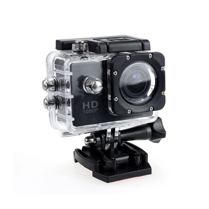 Action Camera Underwater Outdoor Sport Mini Camera Waterproof Cam Screen Color Water Resistant Video Surveillance