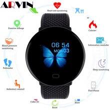 Arvin 2020 남자 Smartwatch 스포츠 보수계 스마트 워치 피트니스 트래커 심박수 모니터 안드로이드에 대한 여성 시계