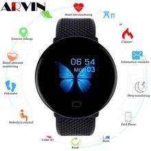 Arvin 2020 mężczyźni Smartwatch Sport inteligentny zegarek z krokomierzem opaska monitorująca aktywność fizyczną pulsometr kobiety zegar dla androida