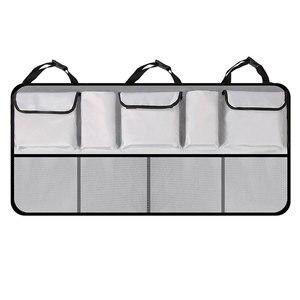 Image 5 - KAWOSEN borsa per bagagliaio per auto di grandi dimensioni per SUV MPV Organizer per sedile posteriore universale accessori per Organizer per seggiolino auto borsa per sedile posteriore CTOB05