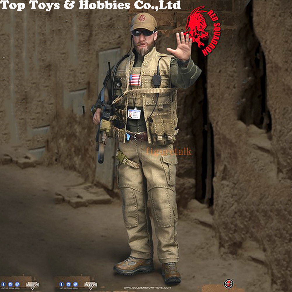 15.3cm mini SoldierStory SSM001 1/12 NSWDG RED SQUADRON T.P.U Soldier Figure Normal Version Action Figure Gift for fans