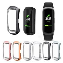 360 Degree TPU Protector Protective Case Cover for Samsung Galaxy Fit SM-R370 Smart Bracelet Watch Plating Shell Accessories