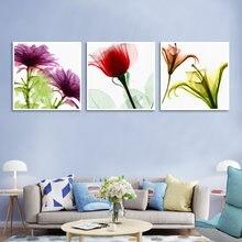 Акварель Цветущая Лилия brownii пейзаж стены художественная