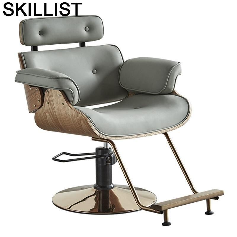 Sedie Belleza De Cabeleireiro Cadeira Barbeiro Furniture Beauty Stoelen Stoel Barbershop Shop Salon Barbearia Barber Chair
