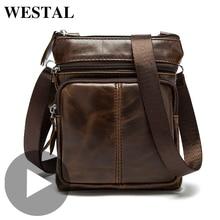Vintage Cross Body Crossbody For Men Shoulder Genuine Leather Bag