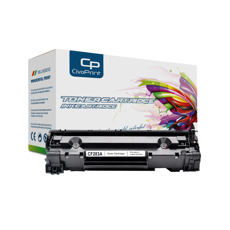 Civoprint Compatible For HP CF283A CF283 283A 283 83A Refillable Toner Cartridge LaserJet Pro MFP M125nw M125rnw M127fn M127w